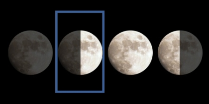 Вторая фаза луны