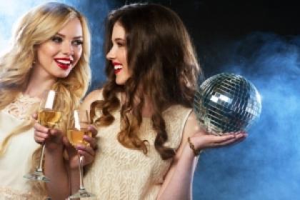 Макияж, прически и украшения на Новый год 2018