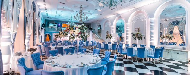 Светлое помещение для свадеб