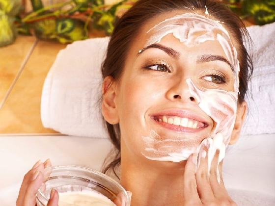 Уход за разными типами кожи с помощью масок и гимнастики