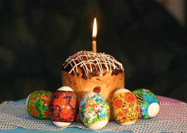 О поведении православных христиан в пасху