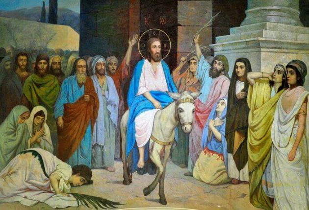 Вход Господень в Иерусалим: толкования, проповеди