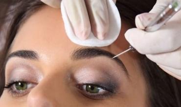 Как делается перманентный макияж бровей?