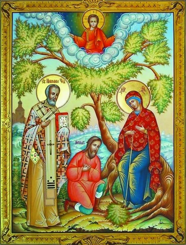 Беседная икона Пресвятой Богородицы
