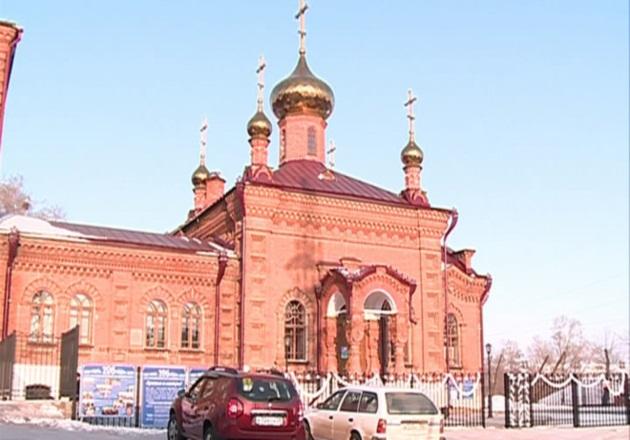 Благовещенский храм в честь Божией Матери