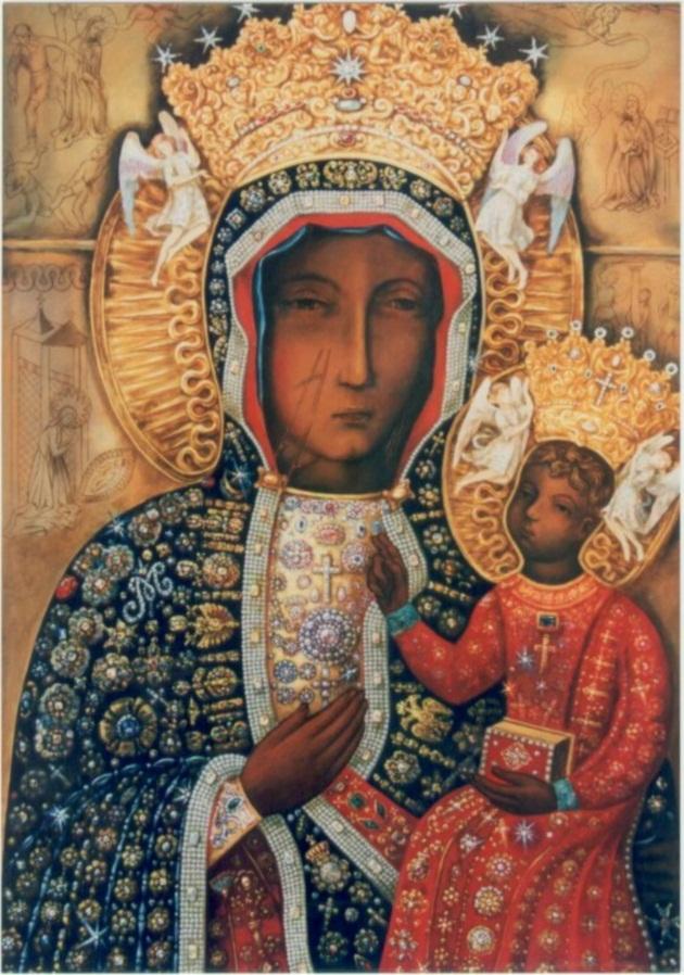 Ченстоховская икона Богородицы