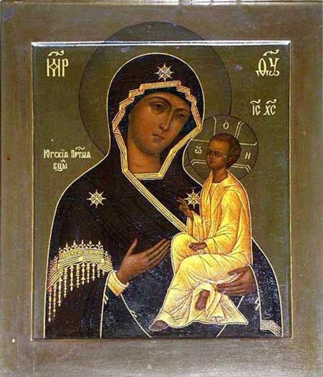 Чудотворная икона Божией Матери, именуемая Югская