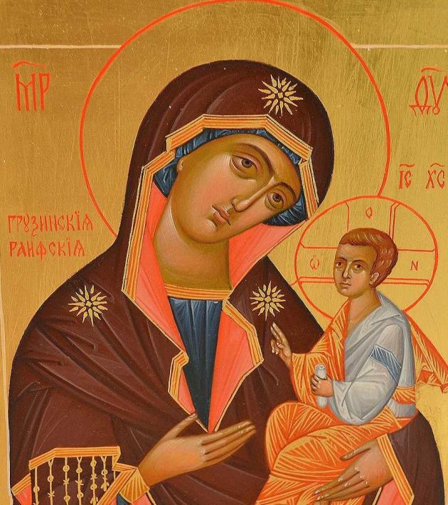 Грузинская икона Пресвятой Богородицы