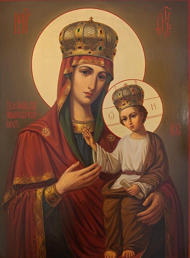 Ильинско-Черниговская икона Божией Матери