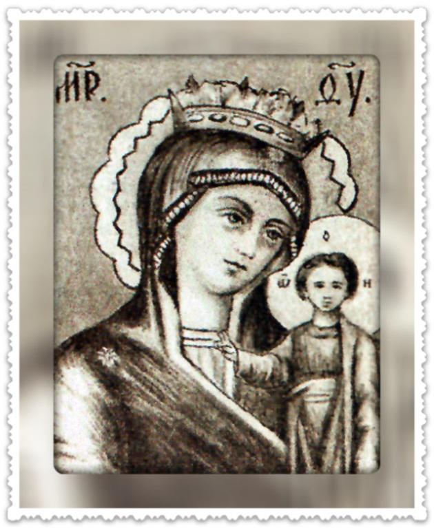 Казанская чудотворная икона Божией Матери, именуемая Высочиновская