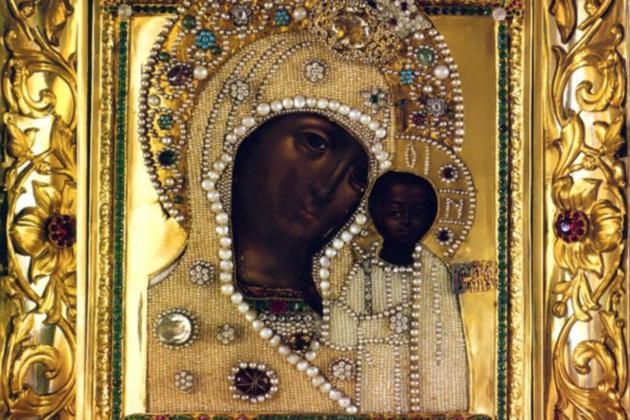 Список с чудотворной Казанской иконы Божией Матери