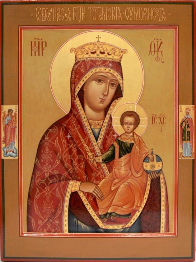 Суморинская -Тотемская икона Богородицы