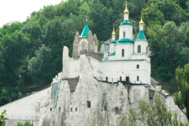 Святогорский Успенский монастырь на Святой горе