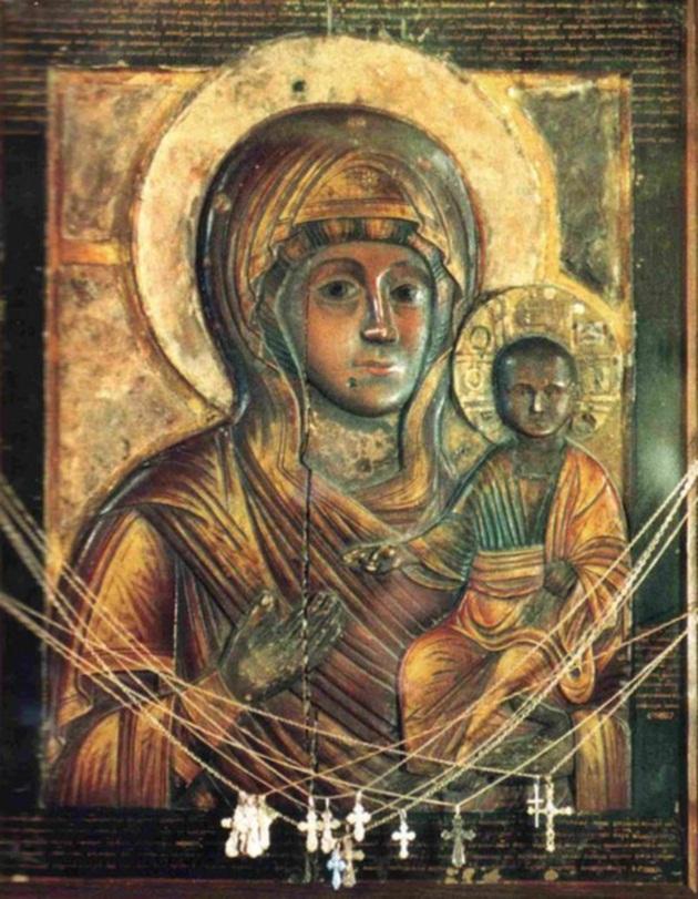 Влахернская икона Богородицы