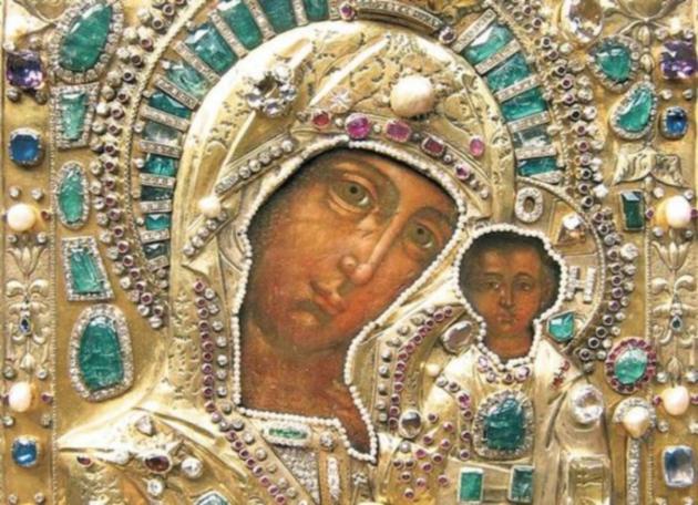 Явление иконы Богородицы во граде Казани